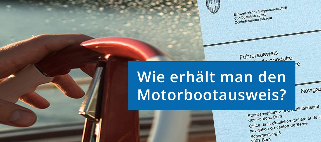 Infos zum Motorbootausweis
