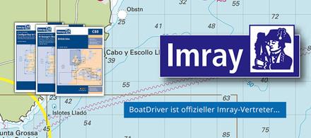 Imray - Aktuelle Seekarten von allen Meeren und Seen