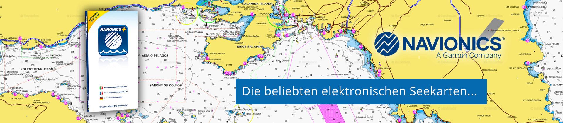 Navionics Seekarten für Plotter