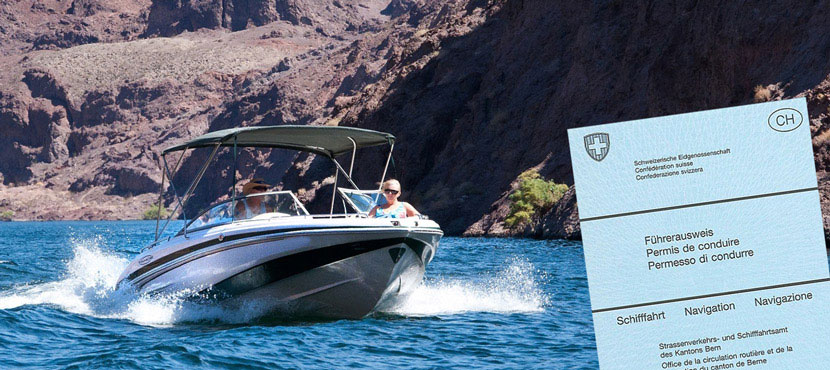Praktische Motorbootprüfung