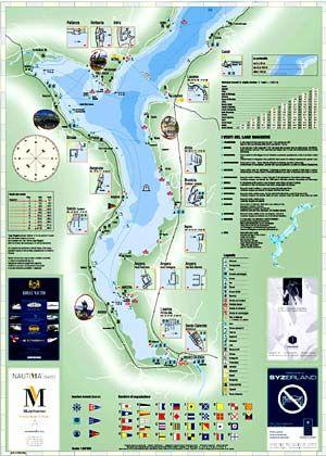Lago Maggiore Karte.Carta Nautica Lago Maggiore