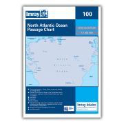 Chart 100 North Atlantic Ocean Passage Chart
