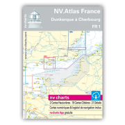 NV.Atlas France FR1: Dunkerque à Cherbourg 2018/19