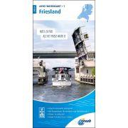 Waterkaart 1 - Friesland
