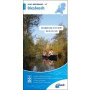 Waterkaart 15 - Biesbosch