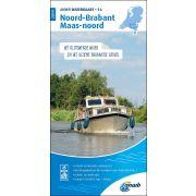 Waterkaart 16 - Noord-Brabant/Maas-Noord