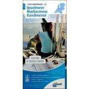Waterkaart 18 - Ijsselmeer-Markermeer / Randmeeren