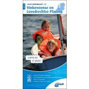 Waterkaart 21 - Vinkeveense en Loosdrechtse Plassen