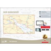 Sportbootkarten Satz 10: Bodensee (aktuelle Ausgabe)