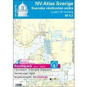 NV.Atlas Sverige norra SE5.1, södra SE5.2