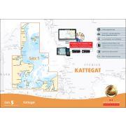 Sportbootkarten Satz 5: Kattegat (Ausgabe 2019)