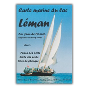 Seekarte Genfersee / Lac Léman