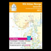 NV.Atlas Norge NO3: Oslofjord Øst, Kristiansand til Kragerø 2018