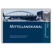 Mittellandkanal und Mittelweser - Binnenkarten Atlas 6