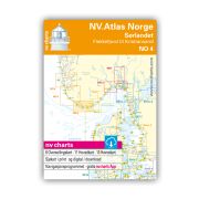 NV.Atlas Norge NO4: Sørlandet, Flekkefjord til Kristiansand 2018