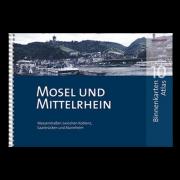 Mosel und Mittelrhein - Binnenkarten Atlas 10