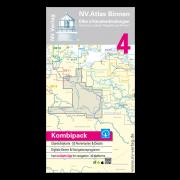 NV.Atlas Binnen 4: Elbe & Kanalverbindungen, Hamburg - Lübeck - Magdeburg - Binden 2017