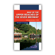 Map of the Upper Reaches of The River Medway