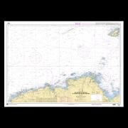 SHOM 6930L Des Roches de Portsall au Plateau des Roches Douvres - INT 1707