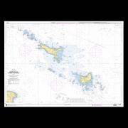 SHOM 7143L Abords des Iles de Houat et de Hoëdic