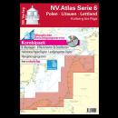 NV.Atlas Serie 6: Polen - Litauen - Lettland, Dievenow bis Riga 2017