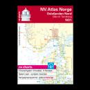 NV.Atlas Norge NO1: Oslofjord Nord, Oslo til Tønsberg 2018