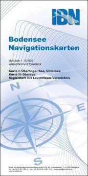Carte marine Bodensee (wasserfest + formstabil)