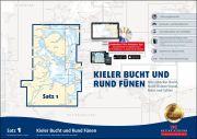 Sportbootkarten Satz 1: Kieler Bucht und Rund Fünen (Ausgabe 2018)