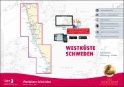 Sportbootkarten Satz 3: Westküste Schweden (Ausgabe 2018/2019)