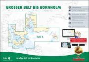 Sportbootkarten Satz 4: Großer Belt bis Bornholm (Ausgabe 2018)