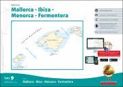 Sportbootkarten Satz 9: Balearen (Ausgabe 2018/2019)