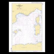 SHOM 7014L Des îles Baléares à la Corse et à la Sardaigne