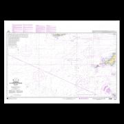 SHOM 7210L Atterrages de l'entrée de La Manche