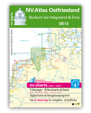 NV.Atlas Ostfriesland DE13: Borkum bis Helgoland & Ems 2018