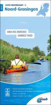 Waterkaart 2 - Noord-Groningen