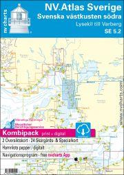 NV.Atlas Sverige SE5.2 - Svenska västkusten södra