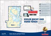 Sportbootkarten Satz 1: Kieler Bucht und Rund Fünen (Ausgabe 2019)