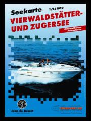 Carte marine Vierwaldstättersee et Zugersee