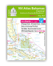 NV.Atlas Bahamas 9.2: Central, Andros to Exuma & Eleuthera I. 2016/17