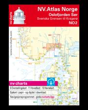 NV.Atlas Norge NO2: Oslofjord Sør, Svenska Grensen til Kragerøg 2018
