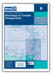 B Martinique to Trinidad Passage Chart
