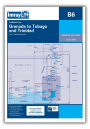 B6 Grenada to Tobago and Trinidad Passage Chart