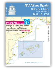 NV.Atlas Spain ES2: Balearic Islands, Ibiza to Menorca 2018