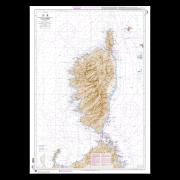 SHOM 7025L Ile de Corse (Korsika)
