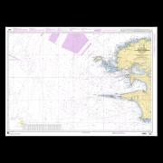 SHOM 7066L De l'Île Vierge à la Pointe de Penmarc'h - Abords de Brest
