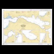 SHOM 7253L Golfe de Corinthe (Korinthiakós Kólpos) - Golfe de Pátras (Patraïkós Kólpos)