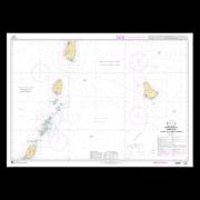 SHOM 7629L Petites Antilles - Partie Sud - De Saint Lucia à Grenada et Barbados