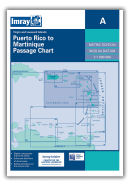 A Lesser Antilles: Puerto Rico to Martinique Passage Chart