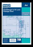 A4 Guadeloupe to St Lucia Passage Chart