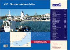 3210 Gibraltar to Cabo de la Nao Chart Atlas